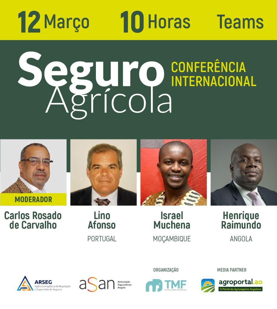 WEBINAR: Conferência Internacional sobre Seguro Agrícola