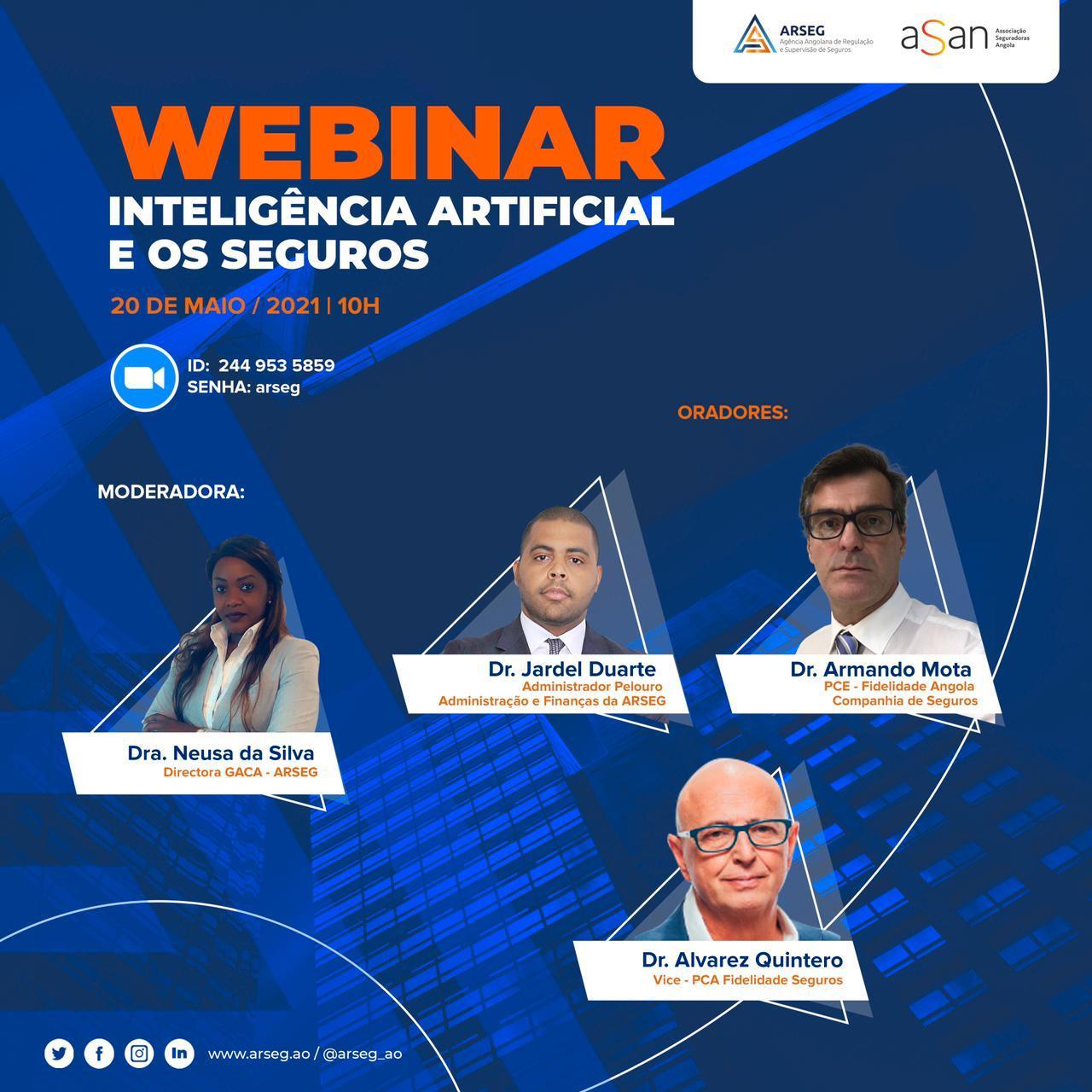Webinar: Inteligência artificial e os seguros